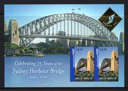 AUSTRALIA, 2007, 75 Years Of The Sidney Harbour Bridge, BANGKOK S/s MNH - 2000-09 Elizabeth II