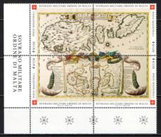 SMOM - 2003 - CARTA GEOGRAFICA DELL'ISOLA DI MALTA - MNH - Sovrano Militare Ordine Di Malta