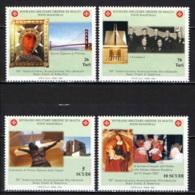 SMOM - 2003 - CINQUANTENARIO DELL'ASSOCIAZIONE OCCIDENTALE STATI UNITI D'AMERICA DELLO SMOM - MNH - Sovrano Militare Ordine Di Malta
