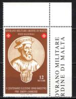 SMOM - 2003 - GRAN MAESTRO FRA' EMERY D'AMBOISE - MNH - Sovrano Militare Ordine Di Malta