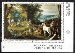 SMOM - 2003 - ORFEO - DIPINTO DI ROELANT SAVERY - MNH - Sovrano Militare Ordine Di Malta