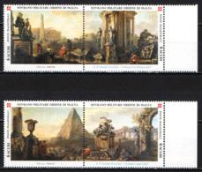 SMOM - 2003 - VEDUTE DI ROMA - DIPINTI DI GIAN PAOLO PANNINI - MNH - Sovrano Militare Ordine Di Malta