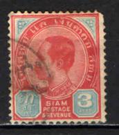TAILANDIA - 1887 - EFFIGIE DEL RE  CHULALONGKORN - USATO - Tailandia