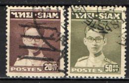 TAILANDIA - 1947 - RITRATTO DEL RE BHUMIBOL ADULYADEJ - USATI - Tailandia