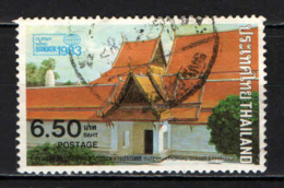 TAILANDIA - 1982 - TEMPIO BUDDISTA A BANGKOK - USATO - Tailandia