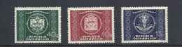 AUSTRIA, 1949, 75 Years UPU 3v Mnh - U.P.U.