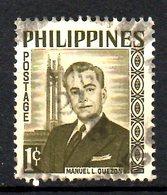 PHILIPPINES. N°461A Oblitéré De 1960. Président Quezon. - Philippines