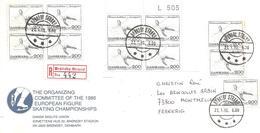 1986 Championnat D'Europe De Patinage Artistique : Brondby (Danemark) Recommandée - Patinage Artistique