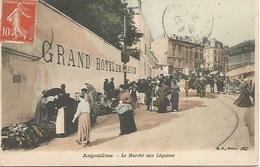 St/         16       Angouléme     Le Marché Aux Légumes      (animations) - Angouleme