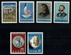 Grecia Nº 778/79-801/4 En Nuevo - Grecia