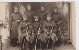 KINGDOM OF YUGOSLAVIA, SERBIA  - ORIGINAL PHOTO, PC FORMAT --  SOLDATEN, SABEL,  ~  VRSAC, 1938 - Militaria