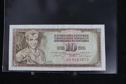 M-An / Billet  De 10 Dinar - Dest Dinara - Socialisticna Federativna Republika Jugoslavija  ( Yougoslavie ) / Année 1968 - Yougoslavie