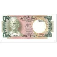 Billet, Sierra Leone, 1 Leone, 1974-84, 1984-08-04, KM:5e, NEUF - Sierra Leone