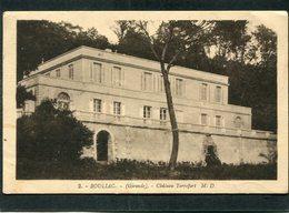CPA - BOULIAC - Château Terrefort - France