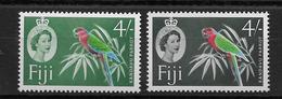 Fidji N°166A/166Aa - Oiseaux - Neuf ** Sans Charnière - TB - Fiji (...-1970)