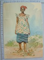 Guiné - Guiné Portuguesa - Mulher Fula - SP1649 - Guinea-Bissau
