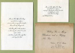 "U.S. ARMY : "" CAPTAIN  HENRY WARD BANKS ""  1918  Lot De Documents - Documents"