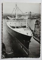 CPSM Lancement Du Paquebot France Chantiers De L'Atlantique Saint Nazaire 11 Mai 1960 - Steamers