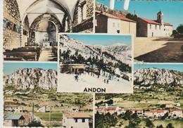C.P.- PHOTO - ANDON - 5 VUES - DO 20 - MAR - - France
