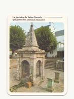 LA FONTAINE DE SAINT CORNELY QUI GUERIT LES ANIMAUX MALADES 56 - Carnac