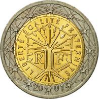 France, 2 Euro, 2001, SUP, Bi-Metallic, KM:1289 - Frankrijk