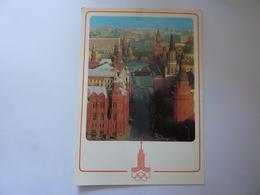 """Cartolina  Viaggiata """"MOSCA  Giochi Della XXII Olimpiade  1980"""" Autografo Atleta  SQUADRA AZZURRA - Giochi Olimpici"""