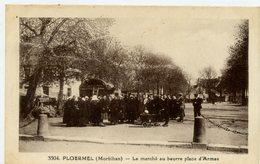 56 - PLOERMEL - Marché Au Beurre, Place D'armes - Ploërmel