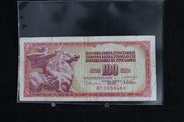 M-An / Billet De 100 Dinar - Dest Dinara - Socialisticna Federativna Republika Jugoslavija  ( Yougoslavie ) / Année 1978 - Yougoslavie
