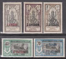 Inde 59 à 61 + 64 + 71 * - Unused Stamps