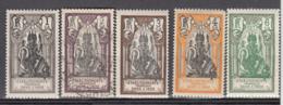 Inde 85 à 89 - India (1892-1954)