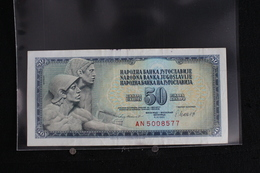 M-An / Billet De 50 Dinar - Dest Dinara - Socialisticna Federativna Republika Jugoslavija  ( Yougoslavie ) / Année 1981 - Yougoslavie