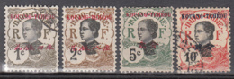 Kouang-Tcheou 18 -19 - 21 - 22 ° - Used Stamps