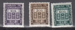 Inde Tx 19 à 21 ** - Unused Stamps