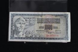 M-An / Billet De 1000 Dinar - Dest Dinara - Socialisticna Federativna Republika Jugoslavija ( Yougoslavie ) / Année 1981 - Yougoslavie