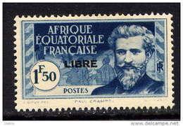AEF -118** - PAUL CRAMPEL / LIBRE - A.E.F. (1936-1958)