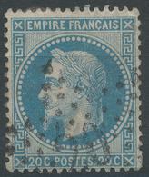 Lot N°46874  N°29A, Obli étoile Chiffrée 20 De PARIS (R.ST-Domque-St-GN-56) - 1863-1870 Napoleon III With Laurels
