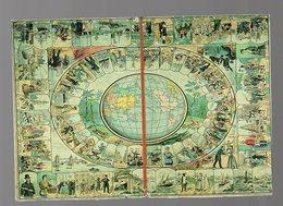Carte Postale Moderne Reproduisant Un Jeu De L'oie Ancien (offert Par Waterman) (PPP17721) - Cartes Postales