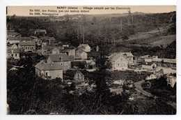 - CPA SANCY (02) - Village Adopté Par Les Cheminots - En 1920, Des Ruines - En 1922, Résurrection - - Other Municipalities