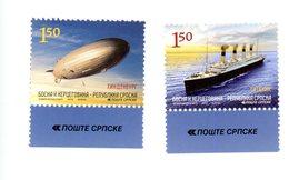 Serbie 2012-Zeppelin, Bateau***MNH - Zeppelins