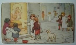 Image De Noël Crèche Anges Agneau Enfants - Images Religieuses