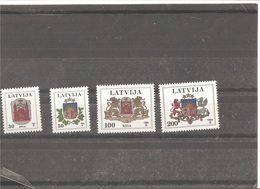 MNH Stamps Nr.389-392 In MICHEL Catalog - Lettonie