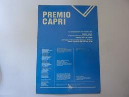 """Cartolina  Viaggiata """"PREMIO ISOLA DI CAPRI 1988"""" Autografi Giuria - Manifestazioni"""