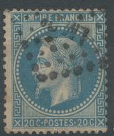 Lot N°46877  N°29B, Obli Losange LM 2° Des Ambulants - 1863-1870 Napoleon III With Laurels