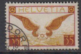 Switzerland 1929 Airmail 35c  Ordinary Paper Used (42191A) - Luchtpostzegels