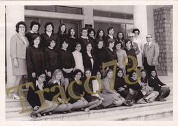 BAGHERIA _ 1970-71 /  Scolaresca In Posa  _  Foto Formato 13 X 18 Cm. - Luoghi