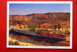 The Ghan - Transkontinentaler Fernverkehrszug - Australien - Legendäre Eisenbahn - Eisenbahnen