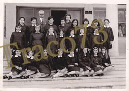 BAGHERIA _ 1968-69 /  Scolaresca In Posa  _  Foto Formato 13 X 18 Cm. - Luoghi