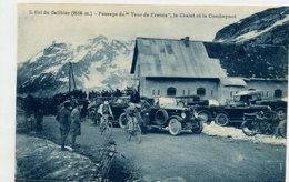 05 - COL DU GALIBIER - Passage Du TOUR DE FRANCE - Cycliste, Chalet Et Combeynot - Moto, Voiture - Otros Municipios
