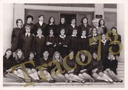 BAGHERIA _ 1969-70 /  Scolaresca In Posa  _  Foto Formato 13 X 18 Cm. - Luoghi