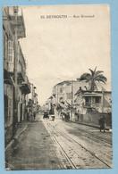 A078  CPA  BEYROUTH  -  Rue Gouraud   ++++++ - Liban